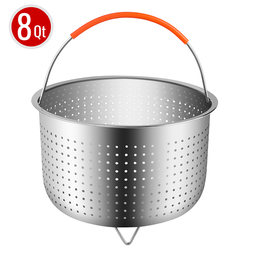 Steamer Basket For 8 Quart Instant Pot Pressure Cooker, Sturdy Stainless  Steel Steamer Insert With